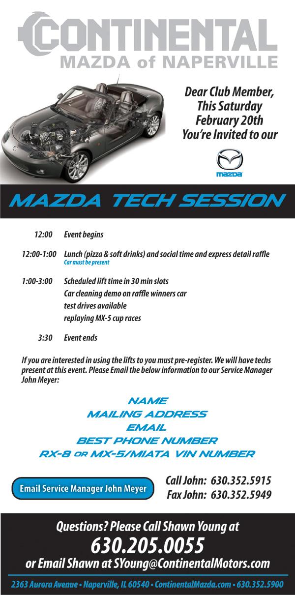 Mazda Tech Day