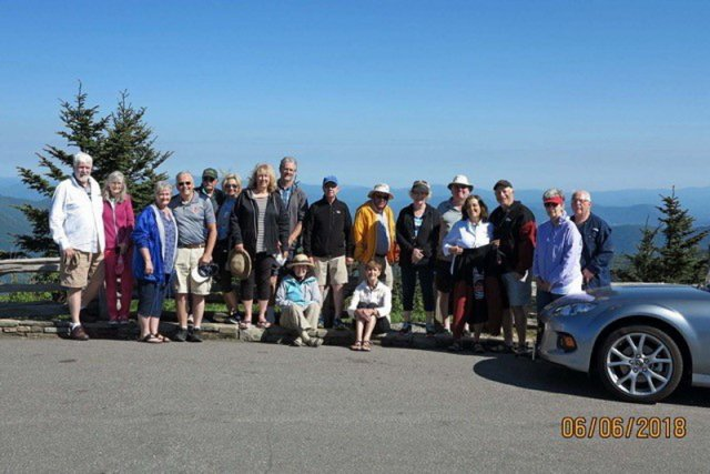 Mt. Mitchell group pic